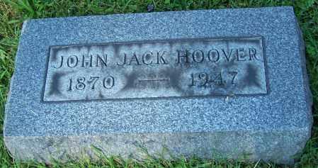HOOVER, JOHN JACK - Stark County, Ohio | JOHN JACK HOOVER - Ohio Gravestone Photos
