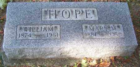 HOPE, WILLIAM - Stark County, Ohio | WILLIAM HOPE - Ohio Gravestone Photos