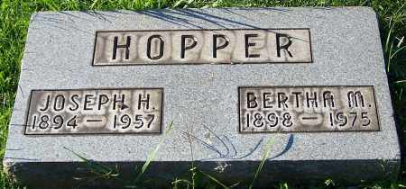 HOPPER, JOSEPH H. - Stark County, Ohio | JOSEPH H. HOPPER - Ohio Gravestone Photos