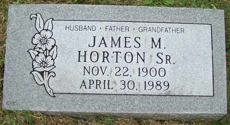 HORTON SR., JAMES M. - Stark County, Ohio | JAMES M. HORTON SR. - Ohio Gravestone Photos