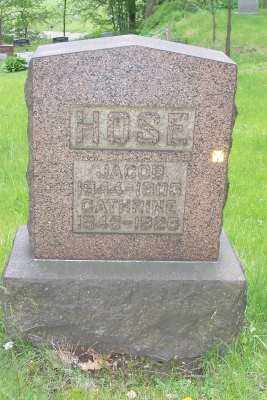 HOSE, CATHERINE - Stark County, Ohio | CATHERINE HOSE - Ohio Gravestone Photos