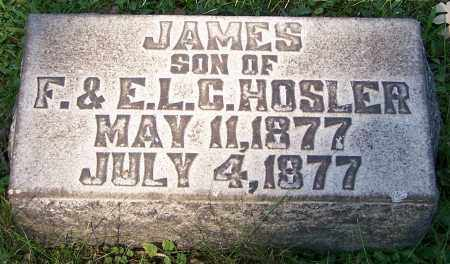 HOSLER, JAMES - Stark County, Ohio | JAMES HOSLER - Ohio Gravestone Photos