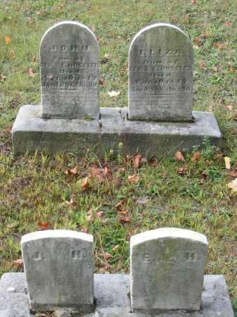 HOSSLER, ELIZA - Stark County, Ohio | ELIZA HOSSLER - Ohio Gravestone Photos