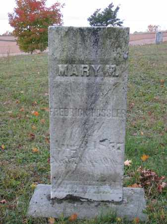 HOSSLER, MARY M - Stark County, Ohio | MARY M HOSSLER - Ohio Gravestone Photos