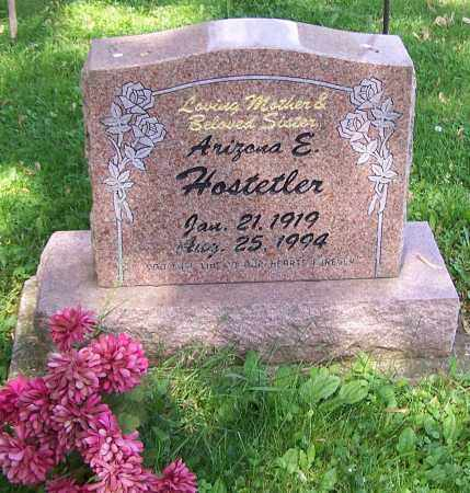 HOSTETLER, ARIZONA E. - Stark County, Ohio | ARIZONA E. HOSTETLER - Ohio Gravestone Photos
