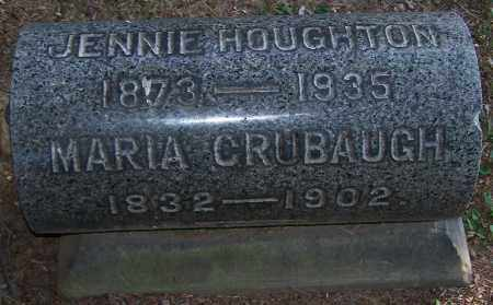 CRUBAUGH, MARIA - Stark County, Ohio | MARIA CRUBAUGH - Ohio Gravestone Photos