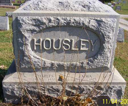 HOUSLEY, EMMA - Stark County, Ohio | EMMA HOUSLEY - Ohio Gravestone Photos