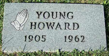 HOWARD, YOUNG - Stark County, Ohio | YOUNG HOWARD - Ohio Gravestone Photos