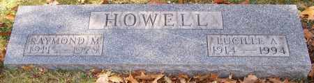 HOWELL, LUCILLE A. - Stark County, Ohio | LUCILLE A. HOWELL - Ohio Gravestone Photos