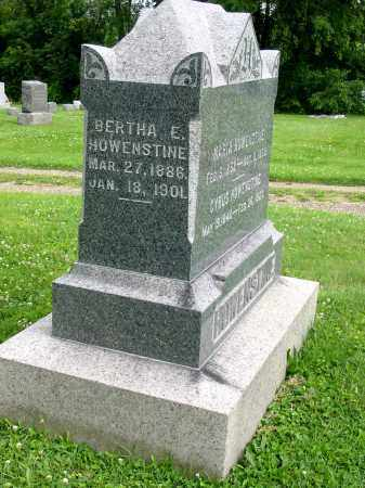 HOWENSTINE, BERTHA E - Stark County, Ohio | BERTHA E HOWENSTINE - Ohio Gravestone Photos