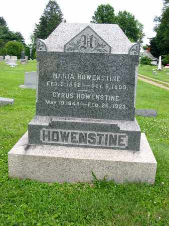 HOWENSTINE, MARIA - Stark County, Ohio | MARIA HOWENSTINE - Ohio Gravestone Photos