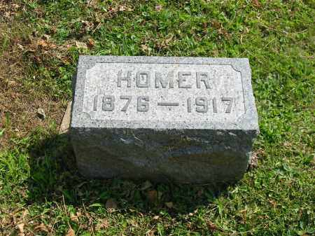 HOWENSTINE, HOMER - Stark County, Ohio | HOMER HOWENSTINE - Ohio Gravestone Photos