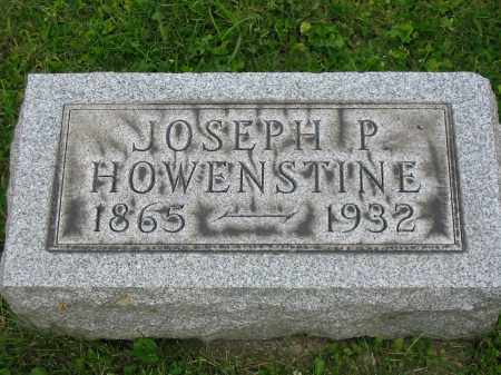 HOWENSTINE, JOSEPH P - Stark County, Ohio | JOSEPH P HOWENSTINE - Ohio Gravestone Photos