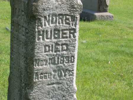 HUBER, ANDREW - Stark County, Ohio | ANDREW HUBER - Ohio Gravestone Photos