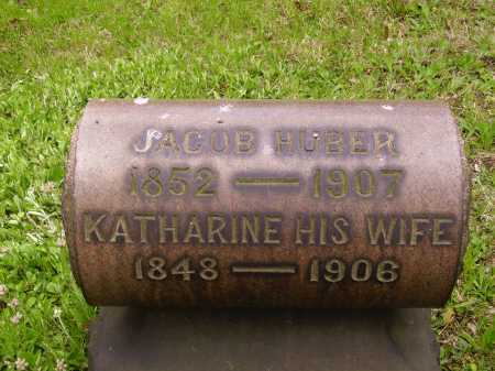 HUBER, JACOB - Stark County, Ohio | JACOB HUBER - Ohio Gravestone Photos