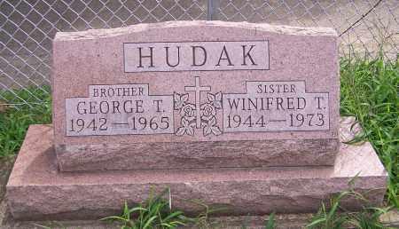 HUDAK, WINFRED T. - Stark County, Ohio | WINFRED T. HUDAK - Ohio Gravestone Photos