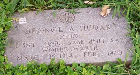 HUDAK, GEORGE A. - Stark County, Ohio | GEORGE A. HUDAK - Ohio Gravestone Photos