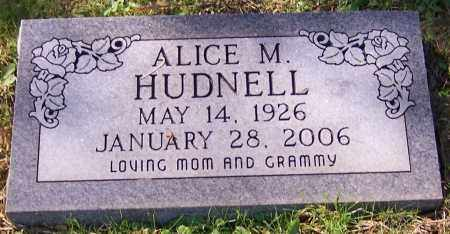 HUDNELL, ALICE M. - Stark County, Ohio | ALICE M. HUDNELL - Ohio Gravestone Photos