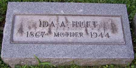 HUET, IDA A. - Stark County, Ohio | IDA A. HUET - Ohio Gravestone Photos