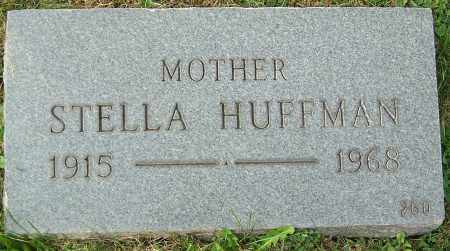HUFFMAN, STELLA - Stark County, Ohio | STELLA HUFFMAN - Ohio Gravestone Photos