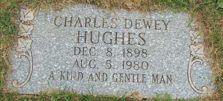 HUGHES, CHARLES DEWEY - Stark County, Ohio | CHARLES DEWEY HUGHES - Ohio Gravestone Photos
