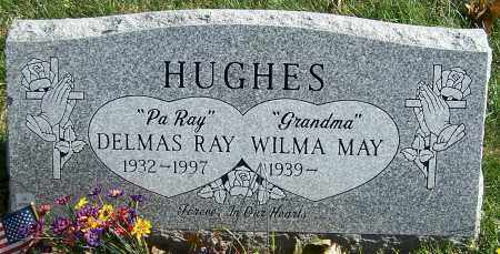 HUGHES, DELMAS RAY - Stark County, Ohio | DELMAS RAY HUGHES - Ohio Gravestone Photos