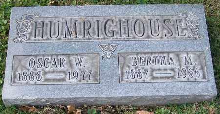 HUMRIGHOUSE, BERTHA M. - Stark County, Ohio | BERTHA M. HUMRIGHOUSE - Ohio Gravestone Photos