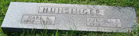 HUNSINGER, CARL A. - Stark County, Ohio | CARL A. HUNSINGER - Ohio Gravestone Photos