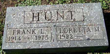 HUNT, LORETTA M. - Stark County, Ohio | LORETTA M. HUNT - Ohio Gravestone Photos