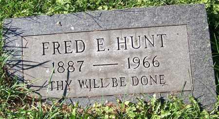 HUNT, FRED E. - Stark County, Ohio | FRED E. HUNT - Ohio Gravestone Photos
