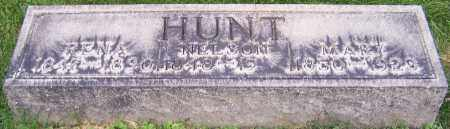 HUNT, NELSON - Stark County, Ohio | NELSON HUNT - Ohio Gravestone Photos