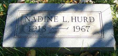 HURD, NADINE L. - Stark County, Ohio | NADINE L. HURD - Ohio Gravestone Photos