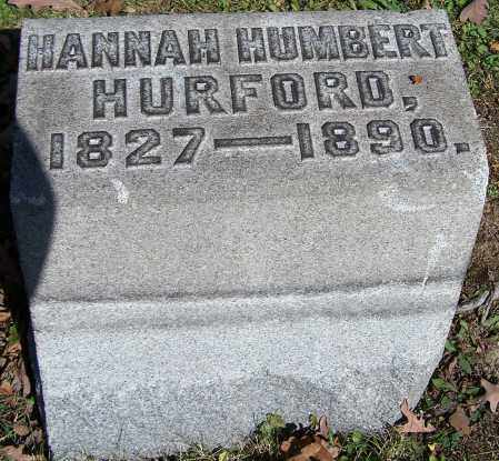 HURFORD, HANNAH HUMBERT - Stark County, Ohio | HANNAH HUMBERT HURFORD - Ohio Gravestone Photos
