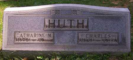 HUTH, CATHARINE M. - Stark County, Ohio | CATHARINE M. HUTH - Ohio Gravestone Photos