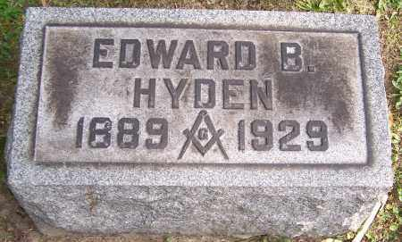 HYDEN, EDWARD B. - Stark County, Ohio | EDWARD B. HYDEN - Ohio Gravestone Photos