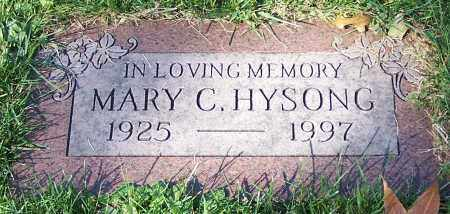 HYSONG, MARY C. - Stark County, Ohio | MARY C. HYSONG - Ohio Gravestone Photos