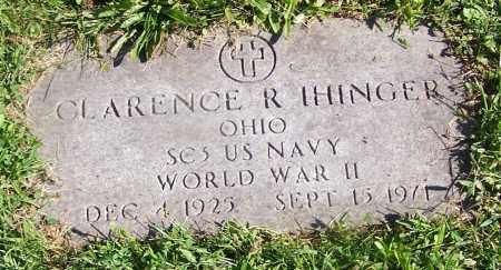 IHINGER, CLARENCE R. - Stark County, Ohio | CLARENCE R. IHINGER - Ohio Gravestone Photos