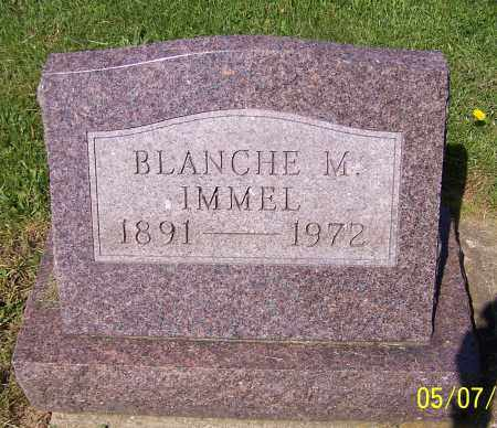 IMMEL, BLANCHE M. - Stark County, Ohio | BLANCHE M. IMMEL - Ohio Gravestone Photos