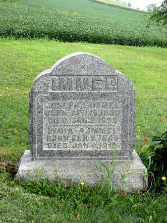 IMMEL, JOSEPH L - Stark County, Ohio | JOSEPH L IMMEL - Ohio Gravestone Photos