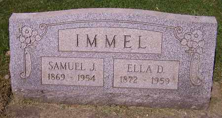 IMMEL, ELLA D. - Stark County, Ohio | ELLA D. IMMEL - Ohio Gravestone Photos