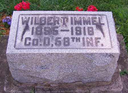 IMMEL, WILBERT - Stark County, Ohio | WILBERT IMMEL - Ohio Gravestone Photos