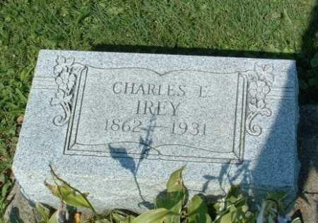 IREY, CHARLES E. - Stark County, Ohio | CHARLES E. IREY - Ohio Gravestone Photos