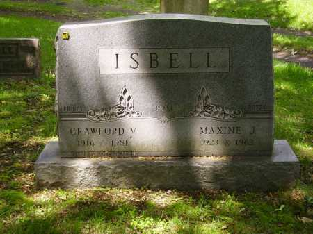 ISBELL, CRAWFORD V. - Stark County, Ohio | CRAWFORD V. ISBELL - Ohio Gravestone Photos
