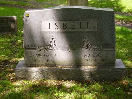 ISBELL, MAXINE J. - Stark County, Ohio | MAXINE J. ISBELL - Ohio Gravestone Photos