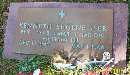 ISER, KENNETH EUGENE - Stark County, Ohio | KENNETH EUGENE ISER - Ohio Gravestone Photos