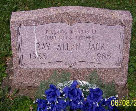 JACK, RAY ALLEN - Stark County, Ohio | RAY ALLEN JACK - Ohio Gravestone Photos