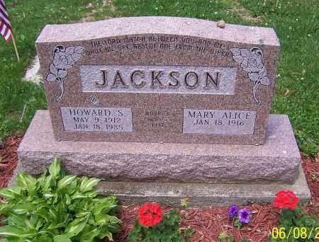 JACKSON, MARY ALICE - Stark County, Ohio | MARY ALICE JACKSON - Ohio Gravestone Photos