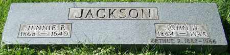 JACKSON, JENNIE P. - Stark County, Ohio | JENNIE P. JACKSON - Ohio Gravestone Photos