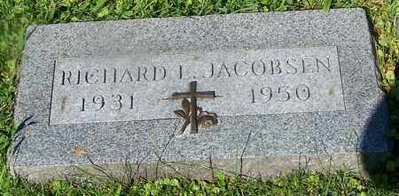 JACOBSEN, RICHARD L. - Stark County, Ohio | RICHARD L. JACOBSEN - Ohio Gravestone Photos