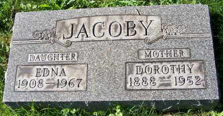 JACOBY, DOROTHY - Stark County, Ohio | DOROTHY JACOBY - Ohio Gravestone Photos